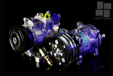 Regeneracja kompresorów klimatyzacji samochodowej